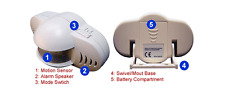 Portable Alarm With PIR Motion Detector - 90 db Alarm Siren
