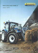Farm Tractor Brochure - New Holland - T6020 LS T6040 LS - c2009 (F4269)