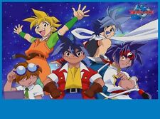BEYBLADE Birthday Party Frosting Cake Topper 1/4 sheet