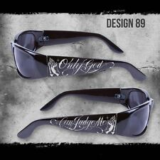 ONLY GOD CAN JUDGE ME SHADES BLACK SUNGLASSES CHOPPERS CITY LOCS NWT CHICANO RAP