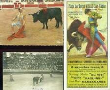 Ensemble de 3 pièces CORRIDA ARLES 1978 DOMINGUIN MACHAQUITO