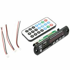 Bluetooth mp3 decoder board modulo SD-CARTE-slot USB FM + TELECOMANDO REMOTE