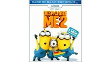 Despicable Me 2 (Blu-ray 3D) (3-D) (Ultraviolet Digital Copy) 2013 no slip cover
