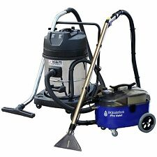 Aquarius Pro Valet Carpet Extraction Upholstery Cleaner & KV60-2 Wet Dry Vacuum