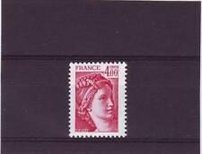 FRANCE - SG2234 MNH 1981 4f CARMINE - LOUIS DAVIDS SABINE