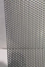 """20 GA.-1/8""""HOLES ON 3/16 STG.-- 304 STAINLESS STEEL PERFORATED SHEET 11"""" X 24"""""""