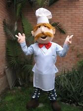 CHEFF MASCOT COSTUME GREAT FOR FRENCH OR ITALIAN RESTAURANT PROMOTION