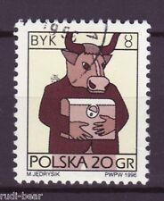 Polen Nr. 3583  gest.  Sternzeichen  Byk  Stier   -1
