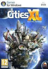 Jeu CITIES XL pour PC montecristo game en francais gestion simulation ville city