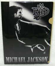 Michael Jackson Live At Wembley July 16, 1988 Taiwan Promo Folder (Clear File)