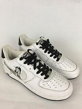 Michael Jackson - White - Nike Air Force 1 - UK 6 EU 40 - RARE - Collectable AF1