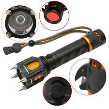 5 Modes 18650 Police Power T6 1000Lumens LED Tactical Flashlight Torch Lamp