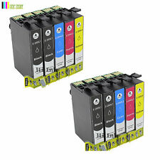 10PC T200XL W/Chip  High Yield Ink for Epson XP 300 310 400 410 WF2530 2530 2540