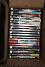 Lot Of 20 Playstation 2 PS2 games Complete(box and manuals); TESTED!! LOT 17