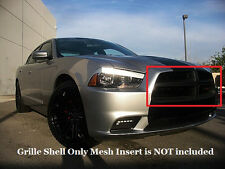 Dodge Charger Matte Black Grille Fits 2011 2012 2013 2014 RT SXT SE Base Grill