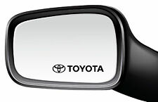 4 x Toyota Car-Side mirror-Window-Vinyl Sticker/Decal-213