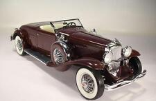 Franklin MINT 1/24 Duesenberg J (1935) rosse-marroni #1700