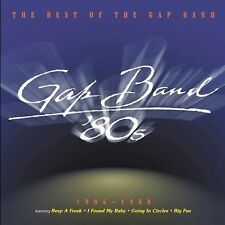 THE GAP BAND Best Of 1984-1988 CD OOP Varese Sarabande 2003 greatest hits 80s