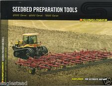 Farm Implement Brochure - Sunflower - Seedbed Preparation Tools - 2011 (F2893)