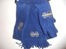 NCAA  Michigan Wolverines 3 piece Ladies Scarf Set,O/S