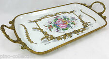VASSOIO ANTICO PORCELLANA LIMOGES Antique porcelain tray