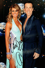Anton DU BEKE & Erin BOAG Signed Autograph 12x8 Photo AFTAL COA Strictly Dancing