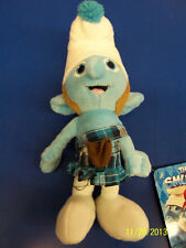"The Smurfs 2 Movie Smurf Gift Collectible Stuffed Toy 8"" Plush Doll - Gutsy"