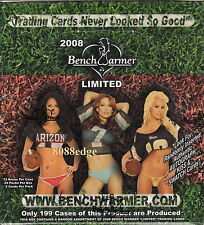 2008 BENCHWARMER LIMITED FACTORY SEALED BOX -KISS/BIKINI/AUTOGRAPH/SWATCH/AUTO
