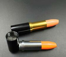 Tobacco Pipes Portable Smoking Pipe Random Delivery Lipstick Smoke Metal Herb