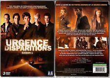 URGENCE DISPARITIONS - Intégrale saison 1 - Coffret 3 boitiers slim - 3 DVD