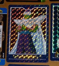 DRAGON BALL Z DBZ HERO COLLECTION PART 4 CARDDASS CARD PRISM CARTE 400 JAPAN **