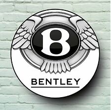 BENTLEY LOGO 2FT LARGE GARAGE SIGN WALL PLAQUE CLASSIC SPORT CAR MAN CAVE GIFT