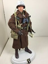 1/6 DRAGON 101ST AIRBORNE PARATROOPER MAJOR ARDENNES THOMPSON+COLT BBI DID WW2