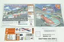 DAYTONA USA 2001 DC Sega Dreamcast Spine Japan USED