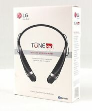 BRAND NEW SEALED-LG Tone PRO HBS-760 Bluetooth Wireless Stereo Headset Black-SM