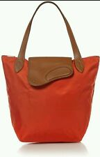 Orange Ralph Lauren VALENCIA/LAUREN TAN Wooten Nylon Tote Bag, RRP £120 * BNWT *
