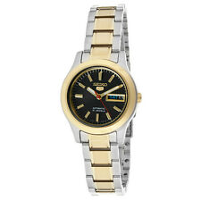 Seiko 5 Ladies SYMD94K1 Combination Black Dial Automatic Watch