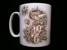 wolseley WD Cutaway/ Exploded View Stationary Engine Gift Mug