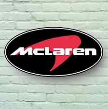 MCLAREN BADGE LOGO 2FT LARGE GARAGE SIGN WALL PLAQUE CAR F1 WORKSHOP MECHANIC