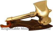 MARVEL COMICS THOR BETA RAY BILL STORMBREAKER GOLD HAMMER WEAPON REPLICA-NIB