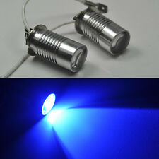 2x Xenon Blue H3 LED Cree projector 5w 6000k Bulb For Fog Light or Driving Lamp