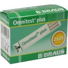 OMNITEST Plus Blutzucker Teststreifen 2X25 St