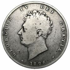 1826 HALFCROWN - GEORGE IV BRITISH SILVER COIN