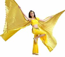 Egyptian Egypt Belly Dance Costume Bifurcate Isis Wings ( no stick ) 10 Colors