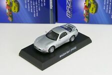 Kyosho 1/64 Mazda RX-7 FD3S Silver Rotary Engine Minicar Collection 2013
