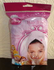 DISNEY PRINCESS Hair Wrap JUST TWIST&WRAP Use after SHOWERING SWIMMING MAKE-UP