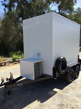 Coolroom Tandem Trailer, 9ft x 5ft, with stainless steel rails