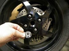 Custom Center Wheel Cap for the Honda VFR Rear Wheel (Cover up that Ugly Hole)