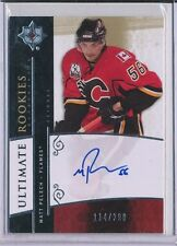 2009/10 UPPER DECK ULTIMATE COLLECTION MATT PELECH AUTOGRAPH 114/299