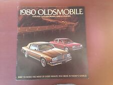 80 1980 Oldsmobile New Model Options and Accessory Dealer Catalog